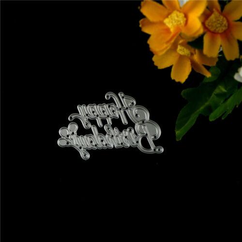 Metall Stanzformen Schablone DIY Scrapbook Papier Karten Album Decor ZP