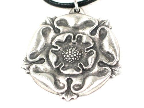 English rose  Pendant  made in English Pewter
