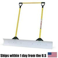 The Snow Plow 48 Snow Shovel With Double Fiberglass Handle 50549 on Sale