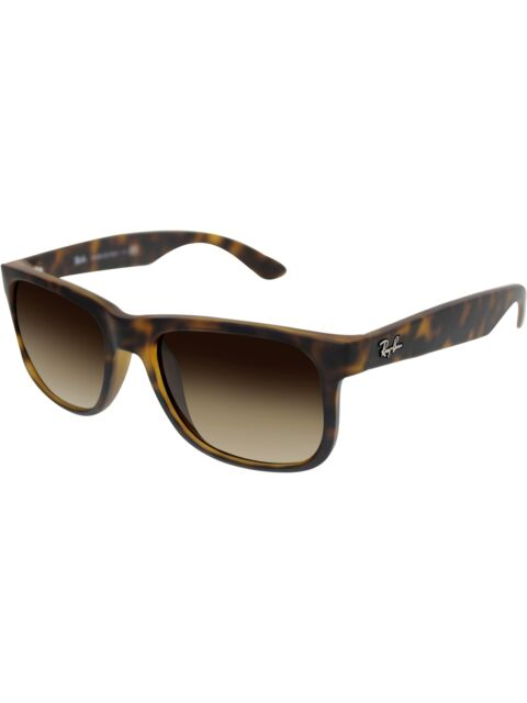 3616aa5269889 Ray-Ban Men s Gradient Justin RB4165-710 13-51 Tortoiseshell Wayfarer  Sunglasses