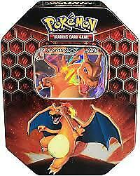 Pokemon-TCG-Sun-amp-Moon-Hidden-Fates-Charizard-GX-Collector-039-s-Tin