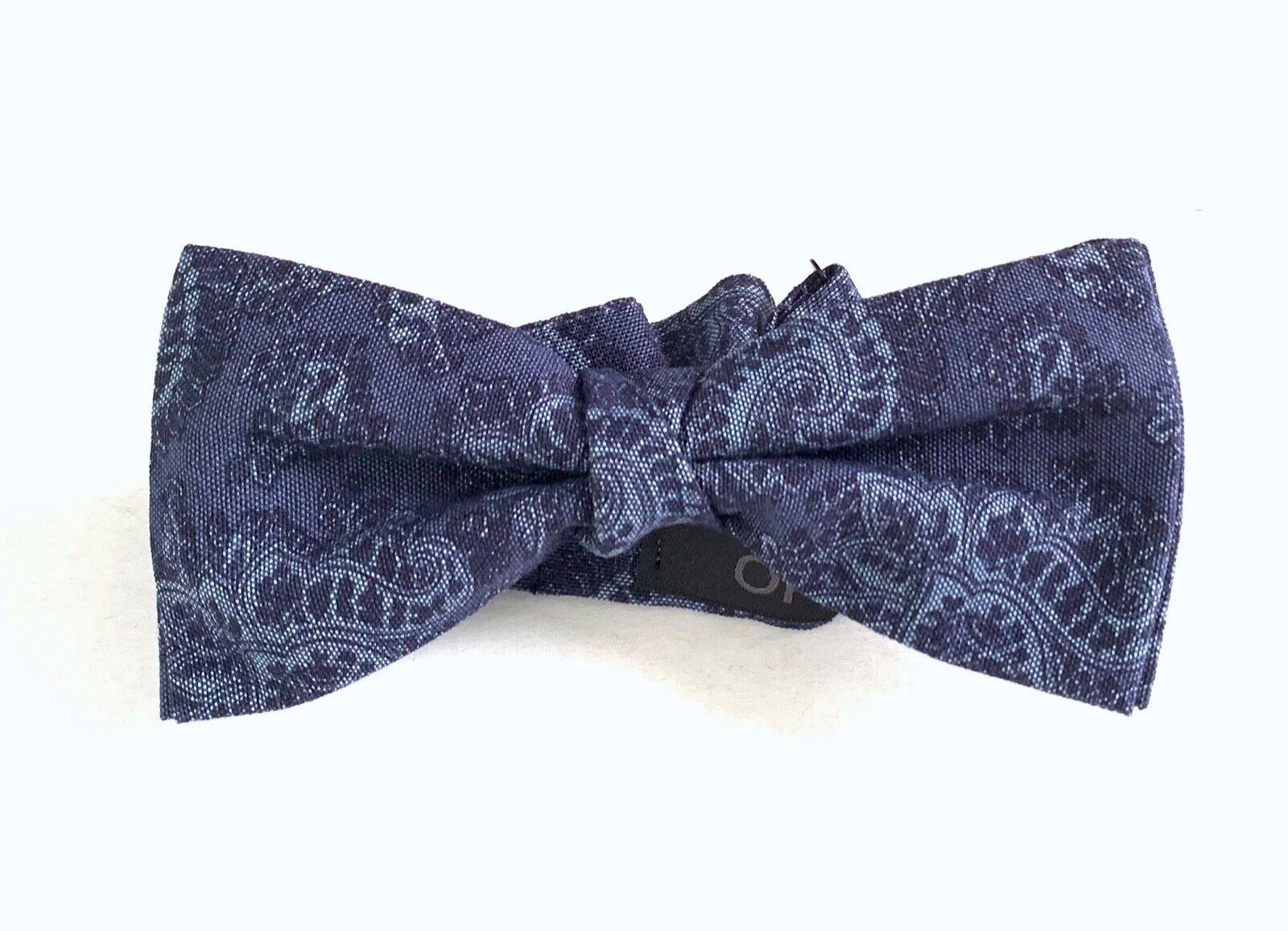 Liu Jo Cash Cotton Bow Tie, Denim, One Size
