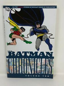 DC-BATMAN-CHRONICLES-Volume-10-Ten-Graphic-Novel-TPB