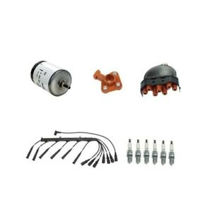 Details about BMW E30 325 325e 325es Tune Up Kit Fuel Filter Plugs Wire Set  Cap Rotor NEW