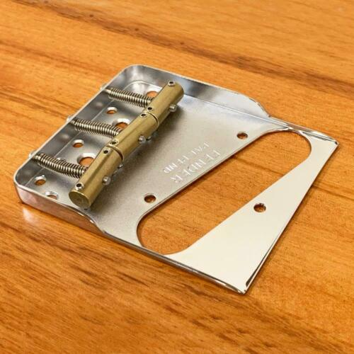 Fender Telecaster Hybrid Notched Vintage Bridge w// 3 Custom Compensated Saddles
