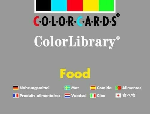 Food ColorLibrary: Colorcards - New Book Speechmark