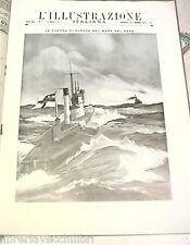 PRIMA GUERRA MONDIALE 1915 Mare del Nord Anversa Polonia Londra Soissons Venezia