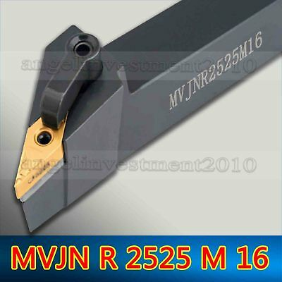 MVJNL 2525M16 25×150mm Index External Lathe Turning Holder For VNMG1604 inserts