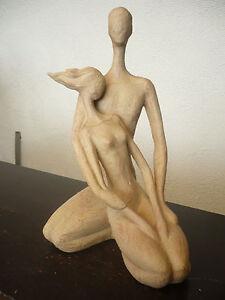Casablanca-Design-Skulptur-034-Paar-034-hellbraun-79682-Liebespaar-Liebe-Geschenk-TOP