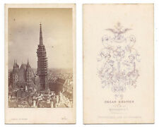 CDV Stephansdom VIENNA Carte de Visite Photograph c1870 by Kramer