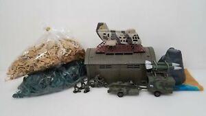 Huge-Lot-Plastic-Army-Men-Toy-Soldiers-Bulk-Action-Figures-amp-Vehicles-etc