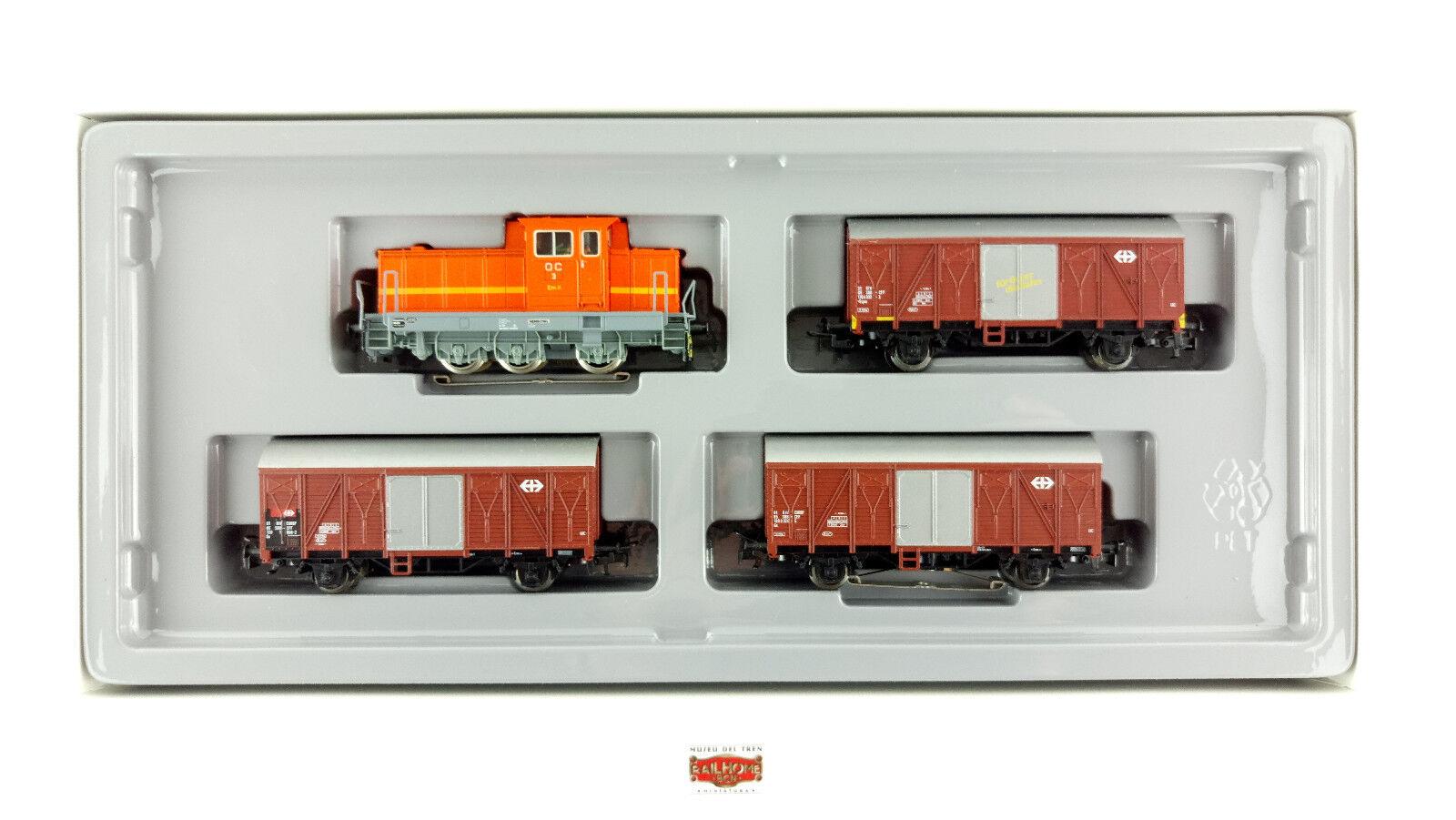 Marklin h0 2647-swiss train set goods kreiensen övp