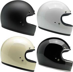 OPEN-BOX-SPECIAL-Biltwell-Gringo-Retro-Motorcycle-Helmet-OPEN-BOX-SPECIAL