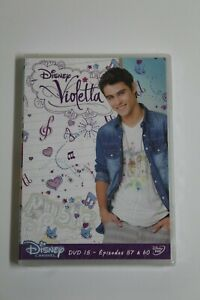 Violetta Series Disney DVD15 Episodes 57 To 60. Language Francés. New IN Blister