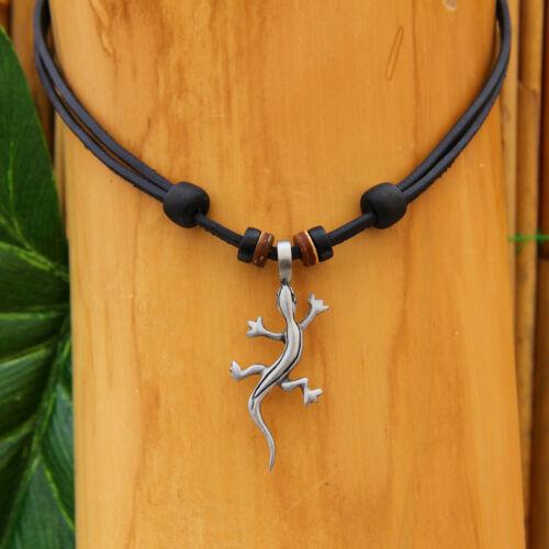 Leather Chain Kite Surfer Necklace Men/'s Jewelry Handmade NEW ZEALAND Fashion Jewellery