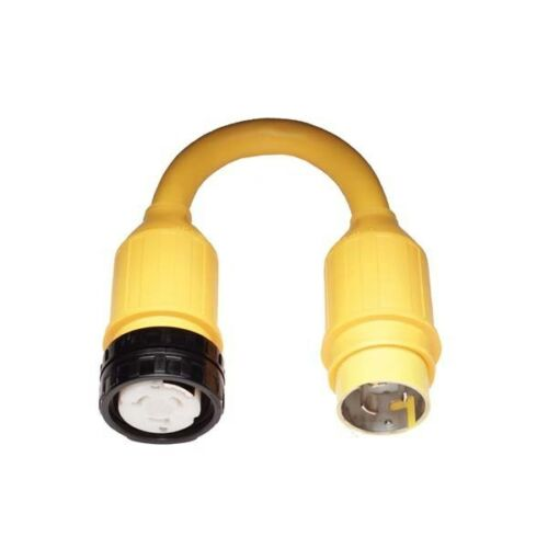 Marinco 118A Pigtail Adapter 50A Locking To 50A Locking 125V