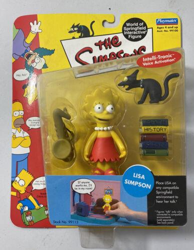 The Simpsons Playmates Figure World Of Simpsons Lisa