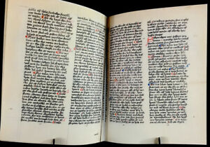 Bible In Old Swedish With Commentaries, 1526 facsimile