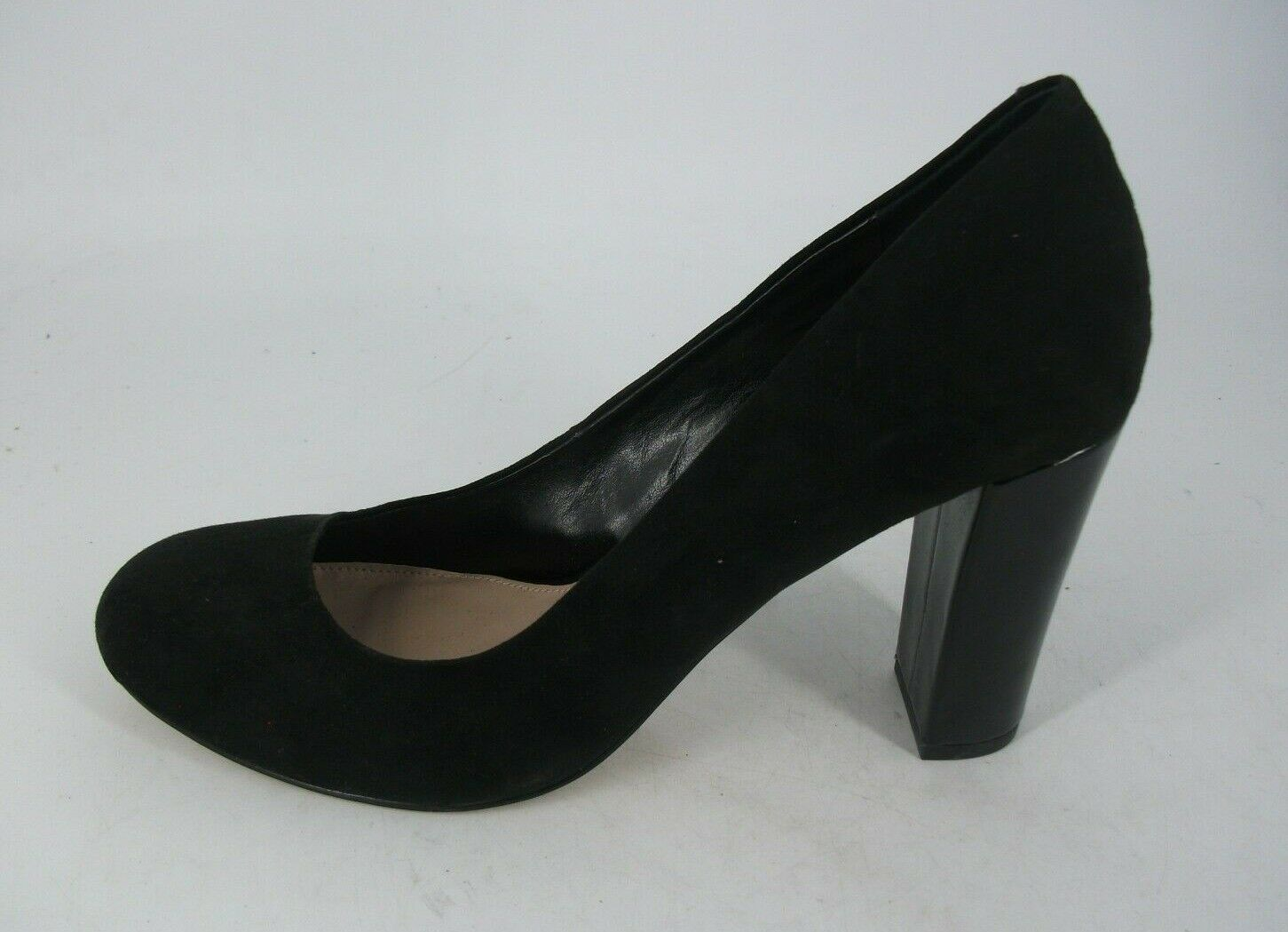Kurt Geiger Textile Block Heel Court chaussures UK 8 EU 41 JS092 HH 07