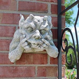 Gnash The Grotesque Gargoyle Design Toscano Exclusive Wall Sculpture