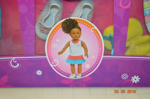 """My Life As 18/"""" DOLL Workout Tennis Shoes dream catcher Sleepwear Clothing Set"""