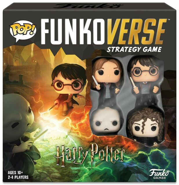 Funko Funkoverse Strategy Game 4PK, Harry Potter 100, New and Sealed