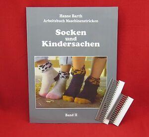 """Buch """"Socken und Kindersachen"""" H.Barth + 9.0mm Deckerkämme 12er+16er Sockenkämme"""
