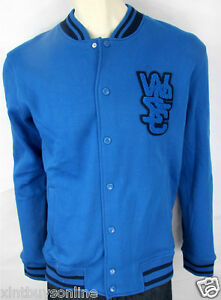 WeSC Baseball Jacket Warren Snorkel Blue WESC | eBay