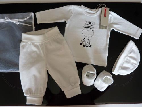 NAME IT Gorgeous Little White ZEBRA Set Size 2-4 Months NWT