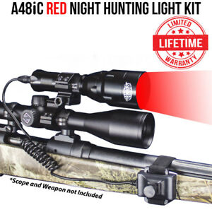 Wicked-Lights-A48iC-Ambush-Night-Hunting-Light-Kit-w-Red-LED-for-Coyotes-Hogs