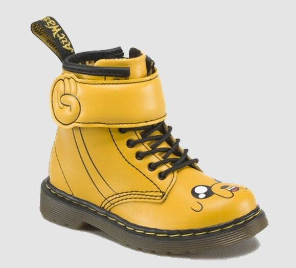 skate shoes reasonable price lace up in Dr Martens JAKE D Softy T Junior PS Kids Fashion Boots Yellow 16680700 L