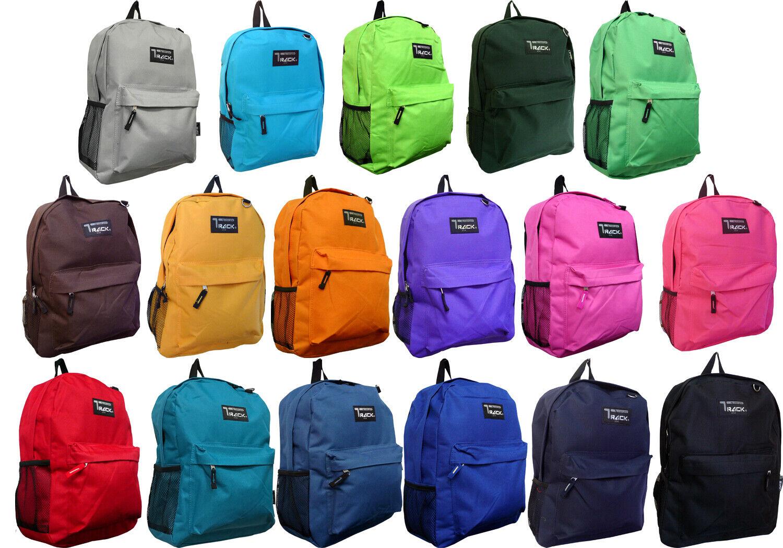 New Solid Color / Emoji class Backpack, Travel Backpack, Hiking Bag, ... - s l1600
