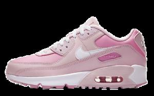 air max 90 bianche e rosa