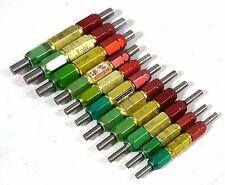 KY Go-Nogo 11 pc Metric Cylindrical Plug GAGE, GO: 6,36 mm - 11.8 mm, NOGO: 6.8