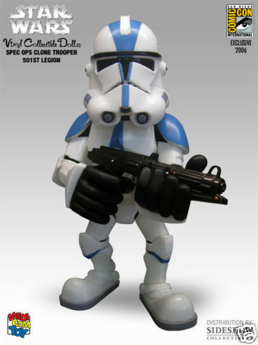 STAR WARS_501st CLONE TROOPER Vinyl Figure_Exclusive Limited Edition_Medicom Toy