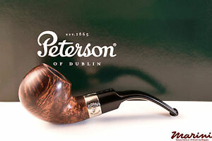 PFEIFE PIPES PIPE PETERSON OF DUBLIN ARAN XL02S CURVA RADICA LISCIA CON VERA