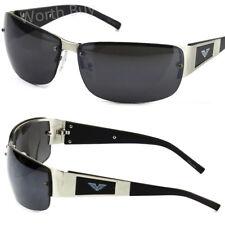 4bd043711fd item 4 Mens Rectangular Fashion Sunglasses Wrap Around Retro Vintage 80s  Designer Eagle -Mens Rectangular Fashion Sunglasses Wrap Around Retro  Vintage 80s ...