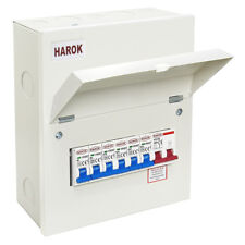 1 X Havells PSB61 PowerSafe 6 Way Three Phase Consumer Unit With ...
