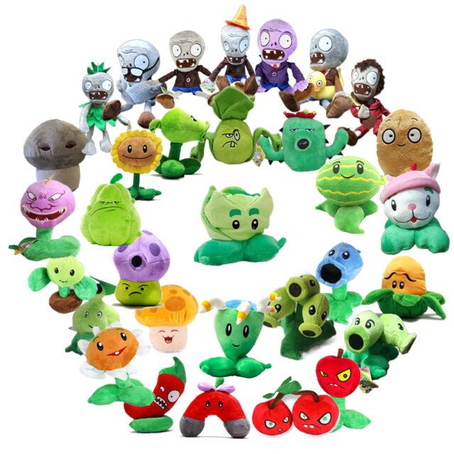 For Kids PLANTS vs. ZOMBIES Soft Plush Teddy Toys Dolls Children Plush Soft Toy