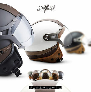 SOXON-SP-325-Urban-CASQUE-MOTO-JET-DEMI-JET-HELMET-SCOOTER-RETRO-XS-XL