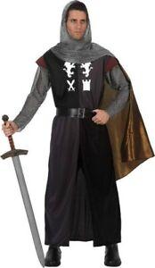 Deguisement-Homme-CHEVALIER-Medieval-XL-Tristan-Arthur-NEUF-Pas-cher