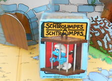 40212 Schtroumpf en cage pitufo puffo smurf puffi BOITE BOX   puffo Rarissime