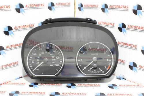 BMW 1 Series Petrol Manual Speedometer Speedo Instrument Cluster 9110192