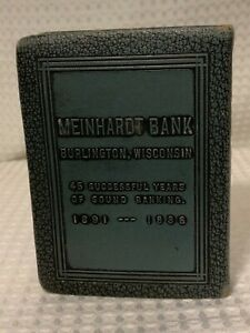 Book of thrift coin bank