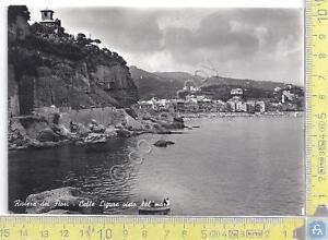 Celle-Ligure-vista-dal-mare-View-from-sea-1952
