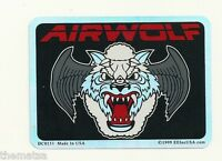 AIR FORCE AIRWOLF USAF  WINDOW STICKER  CAR DECAL