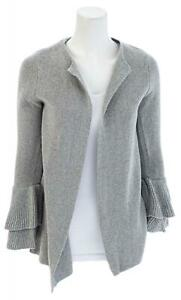 LOFT-OUTLET-Ruffle-Sleeve-Open-Cardigan