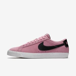 Nike SB Zoom Blazer Low Elemental Pink Black Men Skate Boarding Shoes 864347600