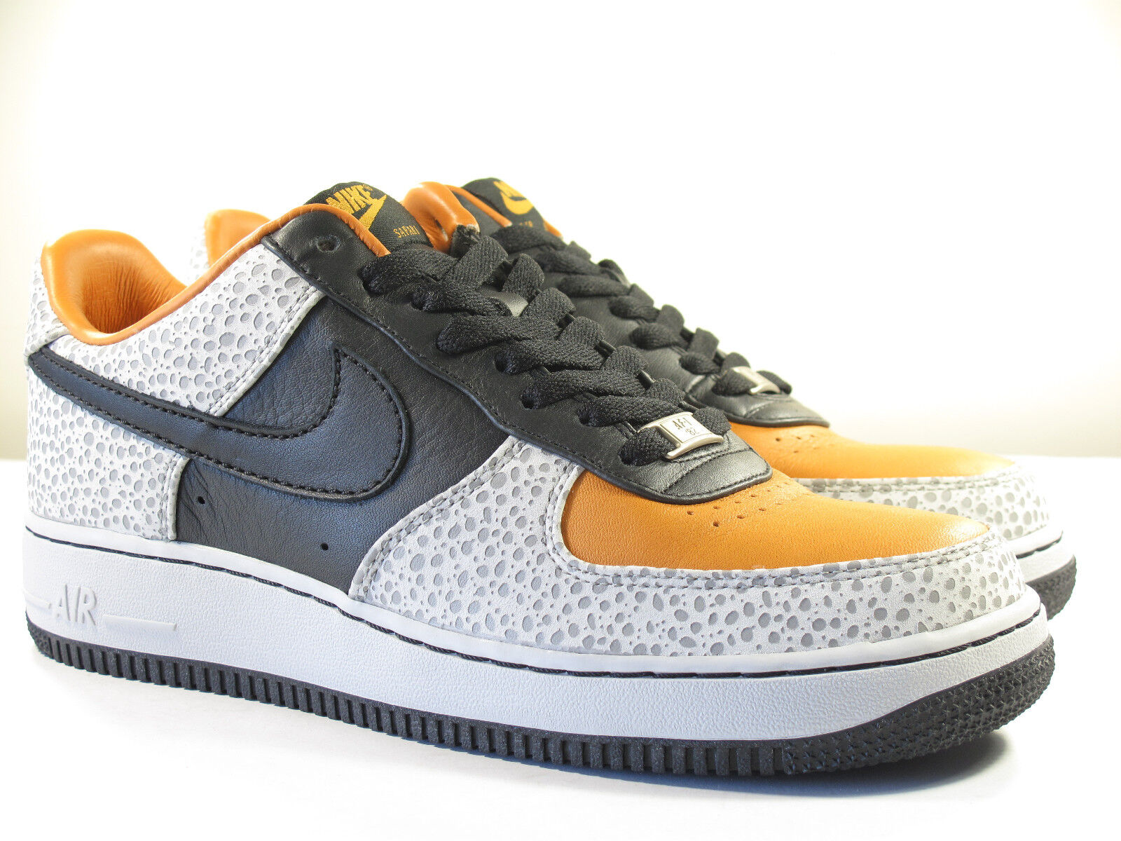 DS NIKE 2007 AIR FORCE 1 SAFARI CARROT 8.5, 11 - 12 MAX TRAINER VINTAGE SUPREME