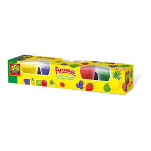 Ses-Creative-Children-039-s-Play-Juego-De-Aroma-de-masa-macetas-4-90g-Unisex-De-2-a-12-anos